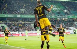 VIDEO, Wolfsburg 1-5 Dortmund: Thắng ấn tượng, tạm chiếm ngôi đầu!