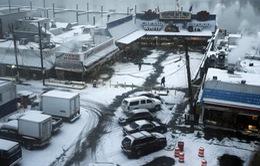 Bão tuyết chưa qua, nước Mỹ lại lo đối mặt lũ lụt