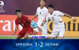 """U19 Việt Nam đánh bại CHDCND Triều Tiên bằng """"tinh thần tuyệt vời"""""""