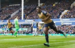 Everton 0-2 Arsenal: 3 điểm nuôi hy vọng