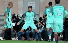 Giao hữu quốc tế: Ronaldo giúp BĐN thắng Bỉ, Đức vùi dập Italy