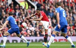Man Utd 1-0 Everton: Martial chắp cánh Quỷ đỏ tiệm cận top 4