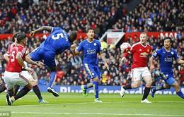 VIDEO Man Utd 1-1 Leicester City: Chưa thể lên ngôi!