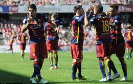 Suarez lập cú đúp, nhấn chìm tham vọng giành Pichichi của Ronaldo
