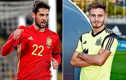 EURO 2016: HLV Del Bosque loại Isco và Saul khỏi danh sách chính thức