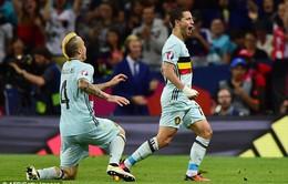 EURO 2016, Hungary 0-4 Bỉ (KT): Thắng tưng bừng, Bỉ chạm trán Xứ Wales ở tứ kết