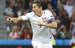 Bàn thắng của Lewandowski nhanh thứ HAI trong lịch sử EURO