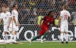 EURO 2016: Ghi bàn vào lưới Ba Lan, Renato Sanches phá kỉ lục của đàn anh Ronaldo
