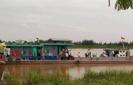 Thái Bình: 2 tàu đâm nhau trên sông, 3 người thiệt mạng, 1 người mất tích