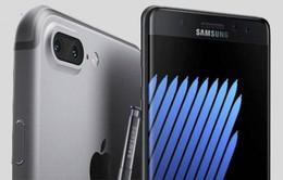 """Apple """"hốt bạc"""" lớn nhờ sự cố Galaxy Note7?"""