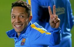 Adriano viết tâm thư đầy xúc động trong ngày chia tay Barcelona