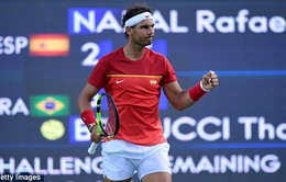 Olympic Rio 2016: Nadal giành quyền vào bán kết quần vợt đơn nam