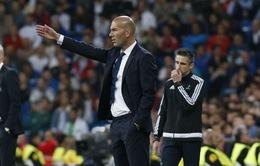 Zidane cất hàng loạt trụ cột, chuẩn bị cho Siêu kinh điển