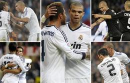 Nhìn lại 9 trung vệ đẳng cấp đá cặp với Pepe suốt 1 thập kỷ ở Real Madrid