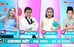 TRỰC TIẾP Chung kết Giọng hát Việt nhí 2016 (21h00, VTV3)