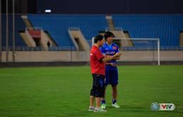 Tuấn Anh vẫn phải tập riêng, nhiều khả năng lỡ trận gặp Fukuoka