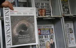 Báo Độc lập của Anh sẽ ngừng phát hành ấn phẩm báo in