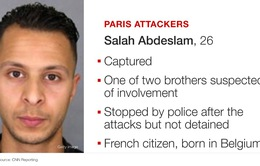 Nghi phạm trong vụ khủng bố ở Paris bị thương trước khi bị bắt