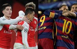 Lịch trực tiếp bóng đá ngày 6/11: Nóng cùng derby London, Barcelona gặp khó