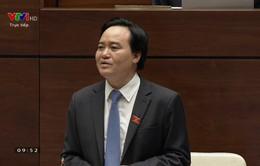 VIDEO: Toàn cảnh Bộ trưởng Phùng Xuân Nhạ trả lời chất vấn
