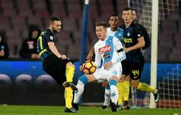 VIDEO, Napoli 3-0 Inter Milan: Đòn phủ đầu chóng vánh