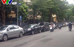 Hà Nội: Tổ chức đỗ xe theo ngày chẵn, lẻ tại phố Thi Sách