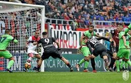 VIDEO: Lapadula tiếp tục tỏa sáng, AC Milan ngược dòng tại San Siro