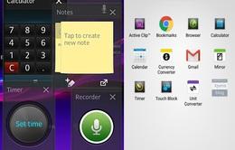 Sony âm thầm loại bỏ Small Apps trên dòng Xperia X mới?