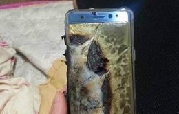 Galaxy Note 7 bất ngờ nổ tung khi đang sạc