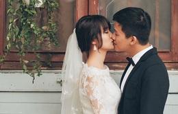 Ngất ngây với bộ ảnh cưới lãng mạn của MC Trần Ngọc