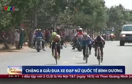 Chặng 8 đua xe đạp nữ quốc tế Bình Dương: Nguyễn Thị Thật tiếp tục áp đảo