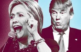 """Hilary Clinton và Donald Trump lần đầu """"so găng"""": Khó đoán kết quả"""
