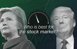 Ứng viên Tổng thống nào ảnh hưởng tốt nhất tới TTCK Mỹ?