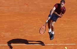 Rafael Nadal và Roger Federer vào tứ kết Monte Carlo Masters