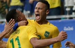 Lịch trực tiếp bóng đá bán kết nam Olympic Rio 2016: Chờ đợi Neymar toả sáng