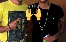 "Neymar ""tóc vàng hoe"" sau Olympic Rio 2016"
