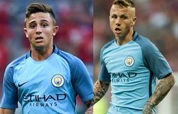 Man City tiết lộ danh tính 2 cầu thủ đầu tiên rời Etihad trong tháng 1/2017