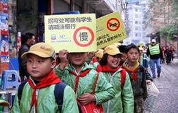 Cảnh báo tỷ lệ trẻ em tử vong cao  do TNGT ở Trung Quốc
