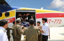 Điều động máy bay hải quân đưa bệnh nhân từ Trường Sa vào bờ