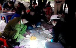 Công an Quảng Ninh triệt phá điểm đánh bạc quy mô lớn, bắt 176 đối tượng