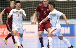 Tuyển futsal Việt Nam kết thúc cuộc phiêu lưu ở World Cup