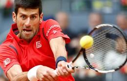 Thắng nghẹt thở Murray, Djokovic lần thứ 2 lên ngôi vương tại Madrid