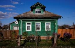 Ngắm vẻ mộc mạc của những ngôi nhà gỗ vùng nông thôn nước Nga