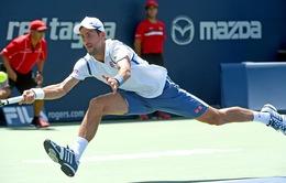 Vòng 2 Rogers Cup 2016: Djokovic ra quân nhọc nhằn!