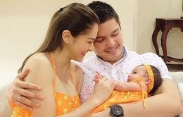 Marian Rivera vui sướng khi hình ảnh con gái lên báo Việt Nam