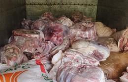 Phát hiện hơn 4 tấn thịt lợn thối tại Hưng Yên