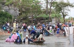 Quảng Nam: Hàng chục bè cá bị cuốn trôi vì thông báo xả lũ muộn