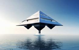Độc đáo siêu du thuyền được thiết kế như... tàu vũ trụ