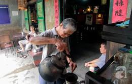 Quán cà phê vợt hiếm hoi còn sót lại tại TP.Hồ Chí Minh