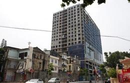 Đề xuất dừng phá dỡ giai đoạn 2 tòa nhà 8B Lê Trực